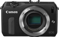Cannon EOS M  Good price, small body, good features.