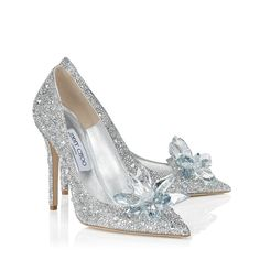 Crystal Covered Pointy Toe Pump 'Cinderella Slipper'   Cinderella   Exclusive   JIMMY CHOO Shoes
