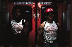 ny city subway photos 1980's | Random bit of inspiration: New York City Subway, 1980s, by Bruce ...