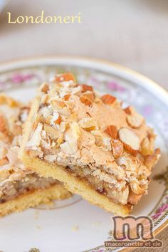 Londoneri … a small Croatian cake, which despite its name has nothing to do with London! – Macaronette and co. Pie Recipes, Fall Recipes, Mexican Food Recipes, Cookie Recipes, Snack Recipes, Dessert Recipes, Italian Snacks, Party Food And Drinks, English Food