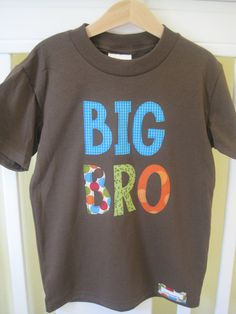 e2e519a7e4d BIG BRO Big Brother Pregnancy Announcement Shirt by TheMommaFish