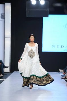 Pakistani fashion Nida Azwer