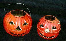 Halloween Tin and Metal - Page One