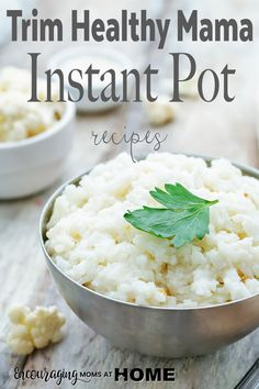 Best Trim Healthy Mama Instant Pot Recipes