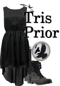 Outfit inspired the Tris Prior ;)
