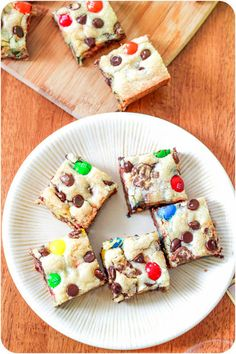 Soft Layered Loaded Sugar Cookie Bars. (Delicious & Use Red & Green Mn'Ms For Holidays)