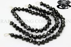 Black Spinel Faceted Trillion (Quality AAA) Shape: Trillion Faceted Length: 18 cm Weight Approx: 18 to 20 Grms. Size Approx: 7.50 to 8.50 mm Price $30.94 Each Strand