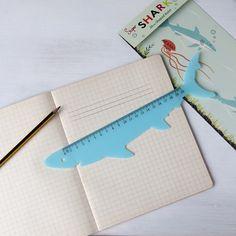 Shark Ruler | dotcomgiftshop | Winter Sale Now On