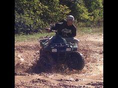 ATV - Four wheeler - Dirtbike Fun (Lots of Mud) - YouTube