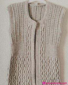 Most Popular Women Knitted Vest Models – Fashion Accessories Plus Populaire, Knit Vest, Matching Couples, Moda Emo, Knitting For Beginners, Couture, Knitting Stitches, Fashion Models, Knitting Patterns