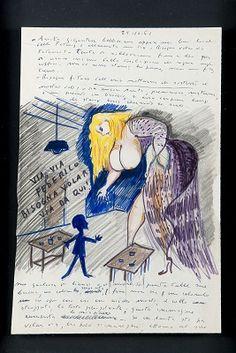 Il Libro dei sogni di Federico Fellini: il Comune di Rimini recupera uno dei fogli mancanti