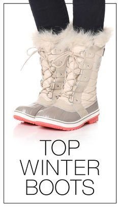 Winter is inevitable (and long... so long). You might as well invest in some stylish cold-weather boots. Here are some of our favorite pairs.