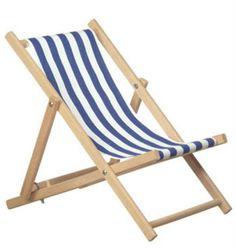 Make a beach chairs - folding chairs