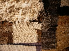 Weaving Process, Hand Weaving, Magdalena Abakanowicz, Gouache, Materials And Structures, Unusual Words, Textile Fabrics, Tapestry Weaving, Horse Hair