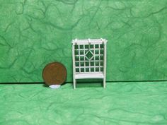 PREORDER+1/4+Arbour+Seat1/48th+Scale+Rose+by+LaPetiteMaisonDAmour,+£8.50