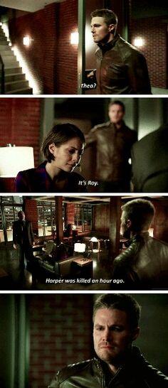 Arrow - Oliver, Thea & Captain Lance #3x19 #Season3