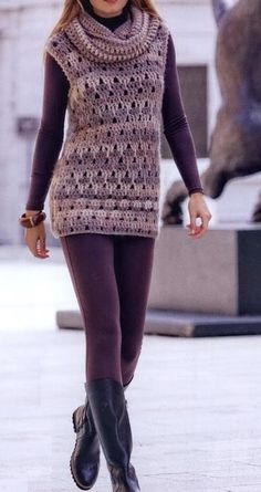 Stylish Easy Crochet: Crochet Tunic Pattern - Stylish & Easy