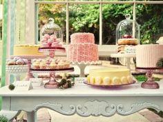 Pretty Sweet Dessert Bar dessert-tables