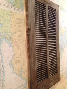 use hinged art to cover up electrical boxes diy and crafts weathered wood hides electrical panel