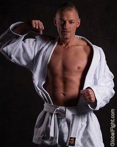 a mma karate fighter grappler