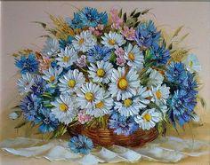 живопись корзины с цветами - Поиск в Google
