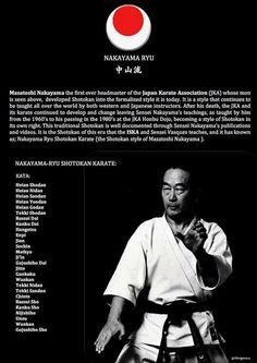 Masatoshi Nakayama. JKA Jka Karate, Shotokan Karate Kata, Karate Styles, Karate Dojo, Kyokushin Karate, Self Defense Moves, Martial Arts Techniques, Kickboxing Workout, Martial Arts Training