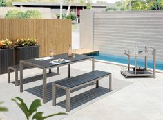 3-Piece Clifford Patio Dining Set