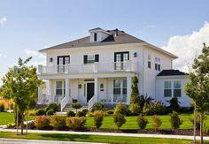 White Foursquare Luxury House