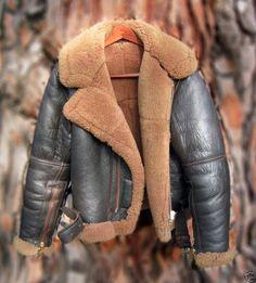 RAF Irvin sheepskin flight jacket
