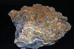 Blenda de fundición. Mina de zinc de Mercadal, Cartes, Cantabria