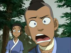 Anime Screencap and Image For Avatar: The Last Airbender Book 1 Avatar The Last Airbender Funny, Avatar Airbender, Avatar Aang, Avatar Show, Team Avatar, Couple Cartoon, Cartoon Shows, Avatar Cartoon, Small Canvas Paintings