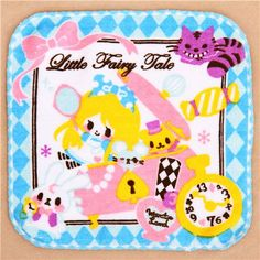 cute Alice in Wonderland Macaron Fairy  towel from Japan 1