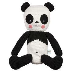 Amanda Panda Crochet Soft toy – La De Dah Kids
