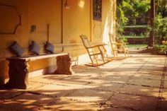 Goa Homestay - Nestled in Assagao, this restored 110-year-old villa is Goa in its true essence. The Villa adorned with vintage furniture can accommodate 6 adults comfortably. With a large garden and porch, time stops when you're here.