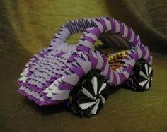 3D+Origami | ... origami car,origami car diagram,car origami,origami 3d car,origami car