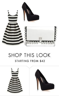 """""""random"""" by peigestyles ❤ liked on Polyvore featuring Warehouse, Carvela Kurt Geiger and Proenza Schouler"""