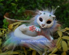 rainbow baby dragon spirit by LisaToms.deviantart.com on @DeviantArt