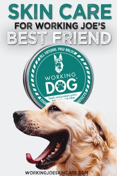Skin care for dogs. Helps heal and protects paws and hot spots. Hot Spots, Working Dogs, Animals For Kids, Dog Mom, The Balm, Healing, Skin Care, Pets, Skincare Routine