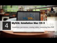 MySQL installation on Mac OS X - YouTube