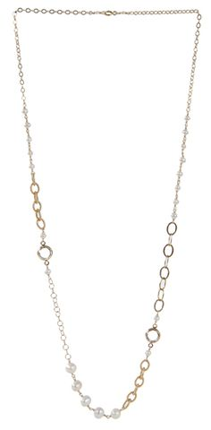 Coco Necklace in Diamond $148 #swarovski #pearls #jewelry