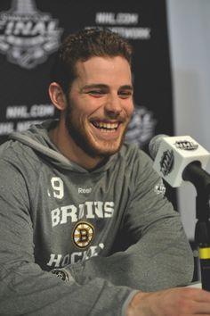 Another wonderful Tyler Seguin smile.