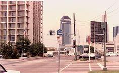 Bank of America under construction Aug. of 1984.    GreneLefe Hotel on left.     http://viettelidc.com.vn