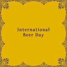 """International """"Beer Day"""" International Beer Day, Mother Goose, Graham Crackers, No Response, Messages, Gallery, Etsy, Roof Rack"""