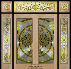 Stained Glass Patterns, Leaded Glass, Doors, Frame, Home Decor, Art, Main Entrance Door, Front Entrances, Picture Frame