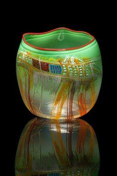 """teru-us: """"Dale Chihuly est un artiste du verre. Métiers d'Art … Verrier """" Broken Glass Art, Shattered Glass, Sea Glass Art, Dale Chihuly, Glass Art Pictures, Zen Pictures, Art Simple, Glass Art Design, Faux Stained Glass"""