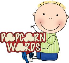 Free printable popcorn word writing template - my students loved ...