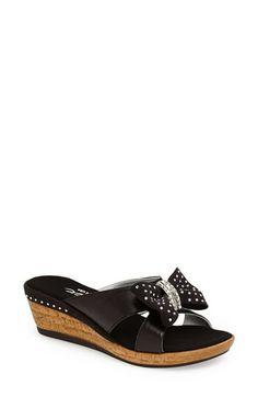 Onex 'Adorable' Wedge Slide Sandal (Women) available at #Nordstrom