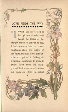 Paul Leicester Ford's : Love finds the way (beautifully floral designed by Margaret Armstrong) Margaret Armstrong designed more than 270 book covers and bookbindings, about 50 % for one publisher (Scribner's). She even specialized in designing the. Botanical Drawings, Botanical Prints, Art Deco Design, Book Design, All About Me Art, Nouveau Tattoo, Art Nouveau Illustration, Vintage Theme, Free Graphics