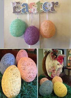 "String Easter Eggs - from 7"" balloons"