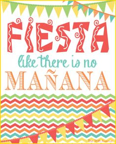 The 36th AVENUE | Fiesta Party Kit Printable